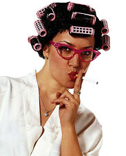 Desperate Housewife Wig with Curlers Cig Aunt Chav Alcoholic Mum Fancy Dress