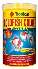 TROPICAL GOLDFISH COLOR Food for goldfish and young koi