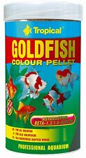 TROPICAL GOLDFISH COLOUR PELLET Granules for goldfish
