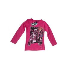 Tee shirt manches longues Monster High rose 12 ans