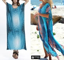 Caftano Kaftan Maglia Vestito Donna Copricostume Top Woman Dress Cover up 110163