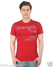 Vivekananda Youth Connect Strength is Life Mens Tshirt
