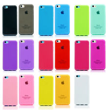 TPU Matte Slim Silicone Soft Case Scratch / Dirt Resistant Cover FOR iPhone