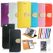 Luxury Magnetic Flip Leather Holder Wallet Case Cover for iPhone 6 / 6S 4.7
