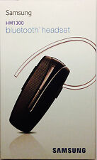 Samsung HM1300 Wireless Bluetooth Headset with Noise & Echo Cancellation- B