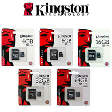 MICRO SD  KINGSTON SDHC 4 GB 8 GB 16 GB 32 GB 64 GB PER SMARTPHONE TABLET
