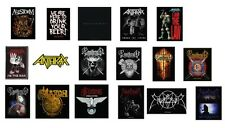 # bring me the horizon ANTHRAX ensiferum SAXON emperor - SEW-ON PATCH patches