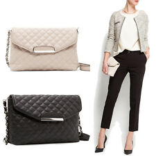 Classic Ladies Clutch Bag Purse Handbag Crossbody Chain Handbag Messenger Tote