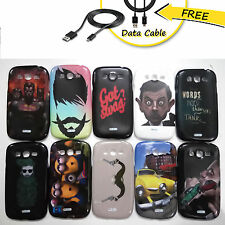 Samsung Galaxy Grand Duos /Neo i9080 i9082 i9060 Case, Rubber + Free Data cable