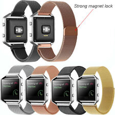 23mm Milanese Megnetic Loop Stainless Steel Band Strap for Fitbit Blaze Watch GB