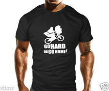 ET Go hard or Go Home Gym Bodybuilding T Shirt Training Workout MMA Casual Fit