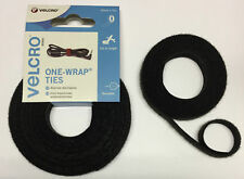 VELCRO® ONE WRAP Hook and Loop Double Sided Strapping 10mm CUT TO SIZE 25cm-1m