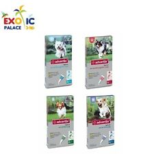 BAYER ADVANTIX PER CANE SPOT ON ANTIPARASSITARIO PULCI ZECCHE 4 PIPETTE AMBIENTE