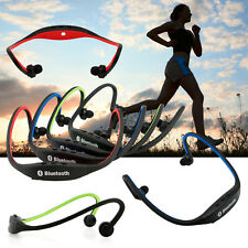 For iPhone Samsung Sports Wireless Bluetooth Handfree Stereo Headset Headph