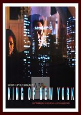 King Of New York   Gangster Movie Posters Vintage Cinema Classic Film