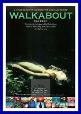 Walkabout     British Movie Posters Classic Vintage  Films
