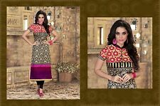 Trendy Style Western India Latest Designer Kurti Silk Traditional Tops V472-5007