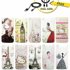 HTC Desire 828 Cover, Designer back case for 828, D828 Cover + Free Data Cable