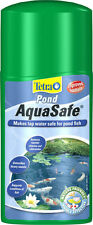 Tetra Pond Aquasafe Tap Water Conditioner 500ml,1000ml safe pond water for fish