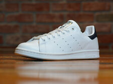 ADIDAS ORIGiNAlS STAN SMITH MENS SHOES US STYLE M20325 (WHITE/NEW NAVY LEAT