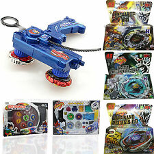 Fusion Top Metal Master Rapidity Fight Kid Beyblade 4D Launcher Set Action Game