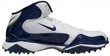 New! NIKE Zoom Merciless Destroyer Football Cleats - Navy & White Turf Shoe