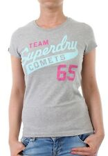 Superdry T-Shirt Women COMETS ENTRY Grey Marl