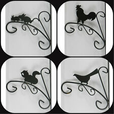 Metal Decorative Wildlife Hanging Basket Hanging Plant Fixed Wall Brackets