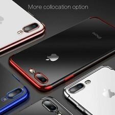 Silicon Protective Back Plating TPU Soft Case Cover For Apple iPhone 5 6 6S Plus