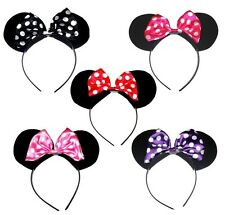 DA RAGAZZA ANIMAL MINNIE MICKEY MOUSE ORECCHIE TESTA CAPELLI CERCHIETTO