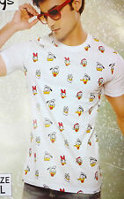 Mens Tshirt, Cotton Fabric, Half sleeves Cartoon design tshirt for mens wear