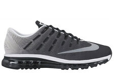 NEW MENS NIKE AIR MAX 2016 RUNNING SHOES TRAINERS BLACK / WHITE / REFLECTIV