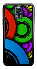 Multi Colour Circles Cool Phone Case Cover for Samsung Galaxy #0015