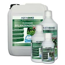 AQUASAN PlantoMax PLUS 250 ml Liquide Aquarium Engrais