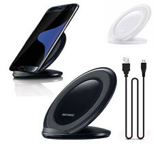 Universal Qi Wireless Charger Charging Stand Dock For Samsung Galaxy S7 S7 Edge