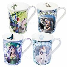 Anne Stokes Ceramic Mug 10.5 cm High Wolf Fairy Unicorn Mugs