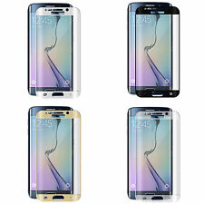 NEW CURVED TEMPERED GLASS LCD SCREEN PROTECTOR FOR SAMSUNG GALAXY S6 7 EDGE/PLUS