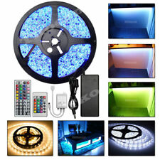 Wholesale 3528 5050 5630 5M/10M/15M/20M RGB White LED Strip Light 12V Waterproof