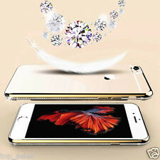 Luxury Ultra Thin Crystal Diamond Bling Gel Case Cover Clear Apple iPhone 6s 6