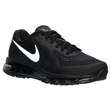 New Men's Nike Air Max 2014 Running Shoes Black/Silver/Gray 621077-001*