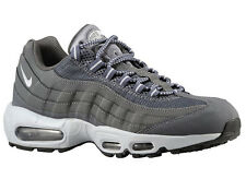 NEW MENS NIKE AIR MAX 95 RUNNING SHOES TRAINERS DARK GREY / BLACK / WOLF GR
