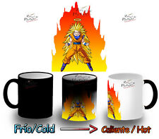 tazza MAGICA DRAGON BALL GOKU SUPER SAIYAN 3 MUG HEAT REACTIVE tazza tasse magic