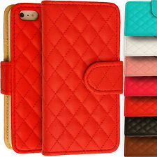 Cuero Artificial Funda Tipo Cartera Acolchado Magnético A para Apple iPhone 5/