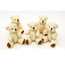 NEW - White Teddy Bears - Small Cute And Cuddly  - Gift Present Birthday Xmas