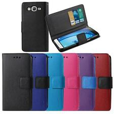 2015 Samsung Galaxy J7 Wallet Leather Magnetic Flip Box Card Holder Case Cover