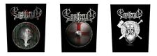# ENSIFERUM - OFFICIAL GIANT SEW-ON BACKPATCH blood is the price shield logo
