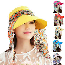 Modo Vivendi | Womens Summer Hat with Scarf | Foldable Sun Protection Hat