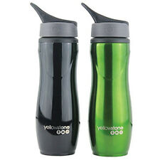 750ml Stainless Steel Drink with grip Sport Hydration Water Bottle Cycling