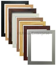 PHOTO FRAME POSTER FRAME PICTURE FRAME IN VARIOUS SIZES&COLORS SILVER BLACK OAK
