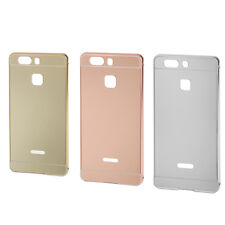 Ultra-thin Aluminum Metal Mirror Back Case Cover for Huawei P9